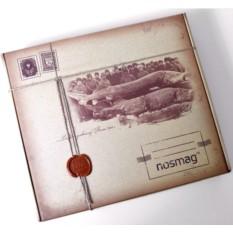 Подарочный кейс носков из мерсерезированного хлопка (20 пар)