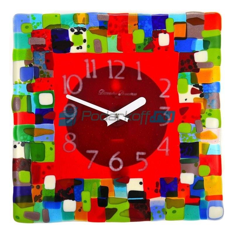Часы настенные Витражи