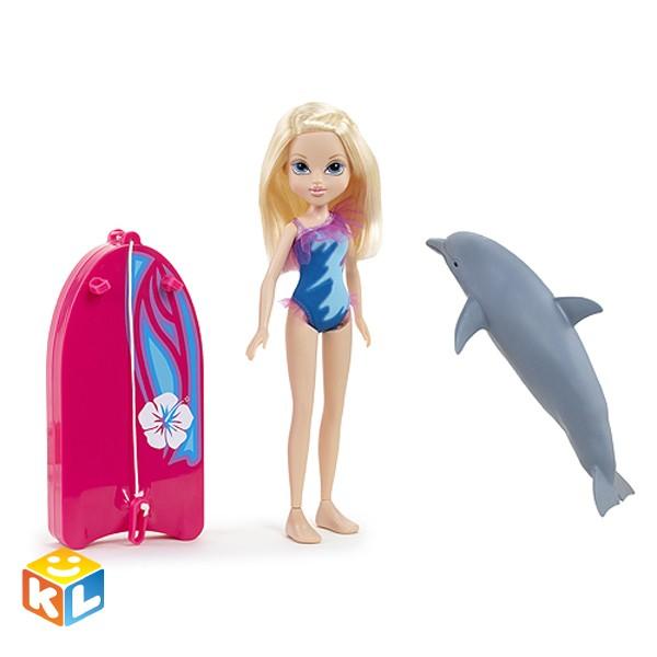 Кукла Эйвери с плавающим дельфином, Moxie