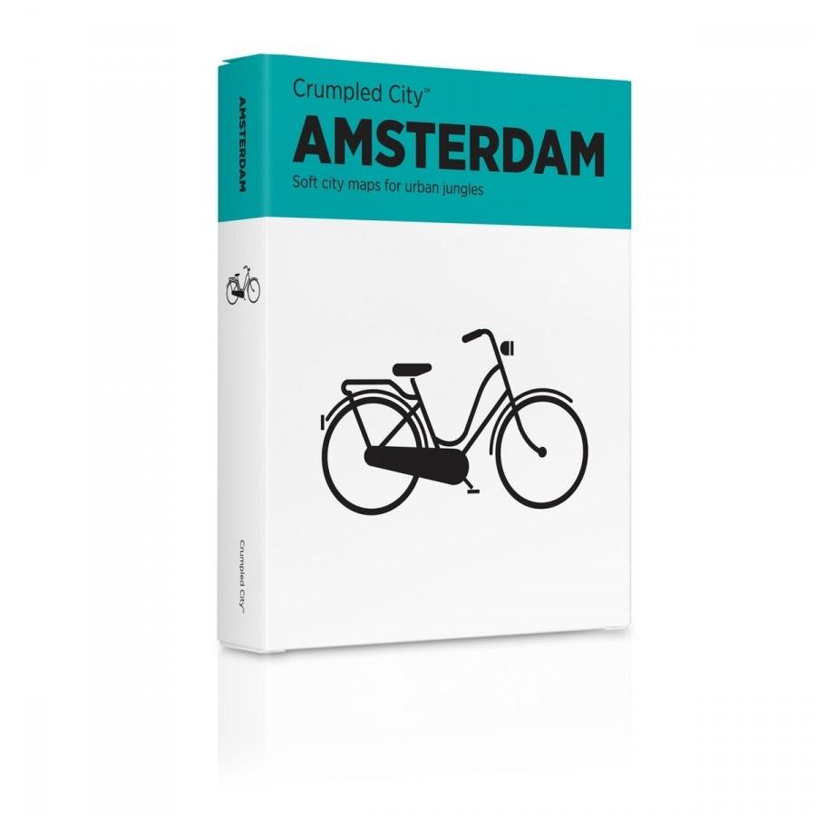 Мятая карта Амстердам (Amsterdam)