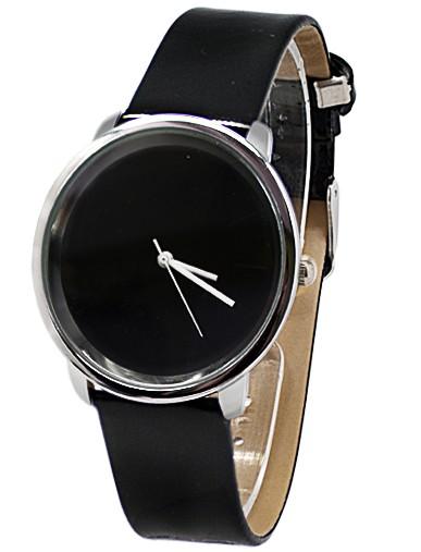 Черные часы Eco