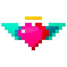 Магнитная мозаика Moza Сердце