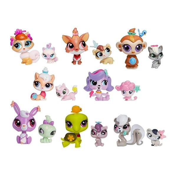 Набор Littlest Pet Shop Hasbro Игрушка Зверюшка и ее малыш