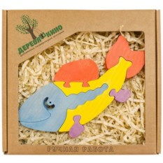 Развивающая игрушка Рыба