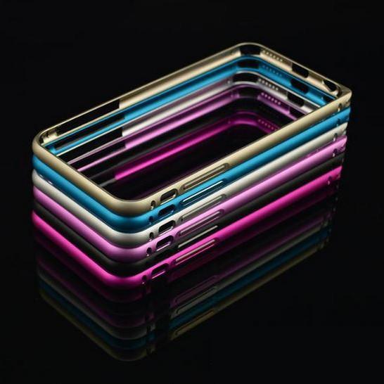 Розовый бампер для iPhone 6 Cross