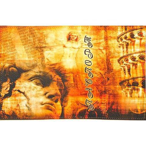 Обложка кожаная на паспорт/загранпаспорт
