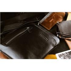Кожаная сумка через плечо Brialdi Providence (цвет — черный)