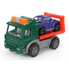 Пластмассовая игрушка Эвакуатор с машиной