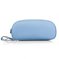 Кожаный дорожный несессер Artskilltouch (цвет: голубой)