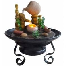 Настольный декоративный фонтан с подсветкой Звуки жизни