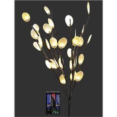 Светящееся украшение Букет лунарии из 30 теплых LED-огней