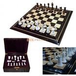 Шахматы из бивня мамонта