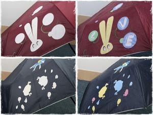 Зонтик со скрытым рисунком
