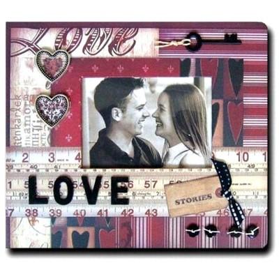 Фотоальбом дизайнерский Love story