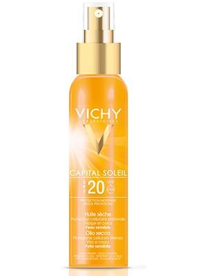 Солнцезащитное масло для лица и тела