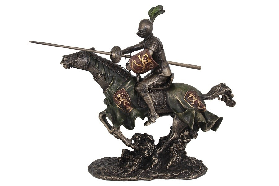 Статуэтка Рыцарь на коне Veronese