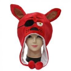 Плюшевая шапка FNAF Лис