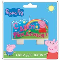 Свеча С днем рождения, Peppa Pig