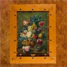 Картина из кожи Цветы в вазе Паулюс Брюссель