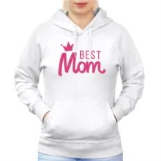Женская толстовка реглан Best Mom