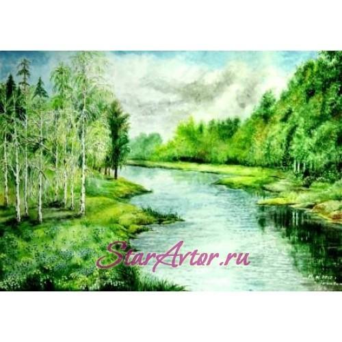 Картина Зеленая Русь