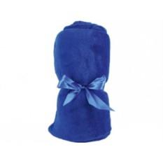 Синий плед в чехле