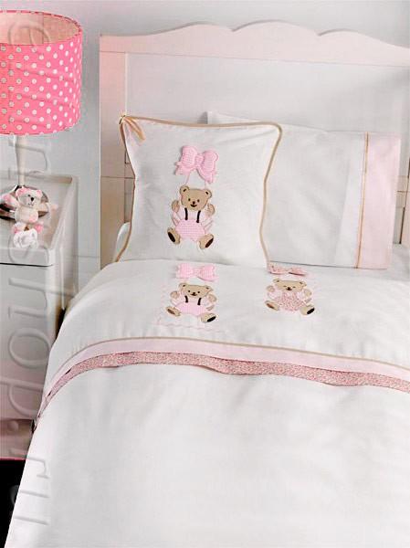 Комплект белья в кроватку Мишка (Gelin Home)