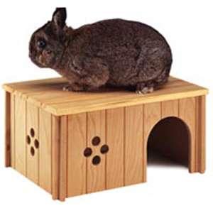 Дом деревянный для грызунов