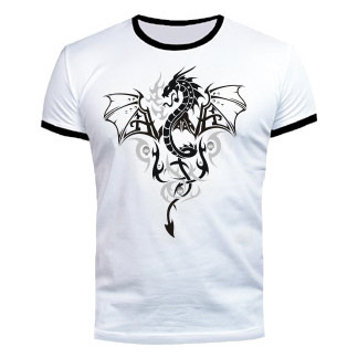 Футболка «Серебряный дракон»