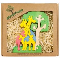 Развивающая игрушка Жирафы и дерево