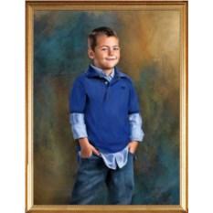 Портрет-подарок для мальчика 7-9 лет