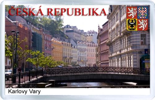 Магнит на холодильник: Чехия. Карловы Вары