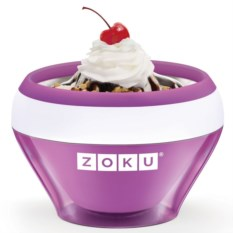 Фиолетовая мороженица Ice Cream Maker