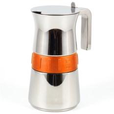 Гейзерная кофеварка Bra Elegance Orange