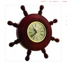 Часы Штурвал корабля