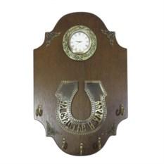Настенная ключница с композицией Время