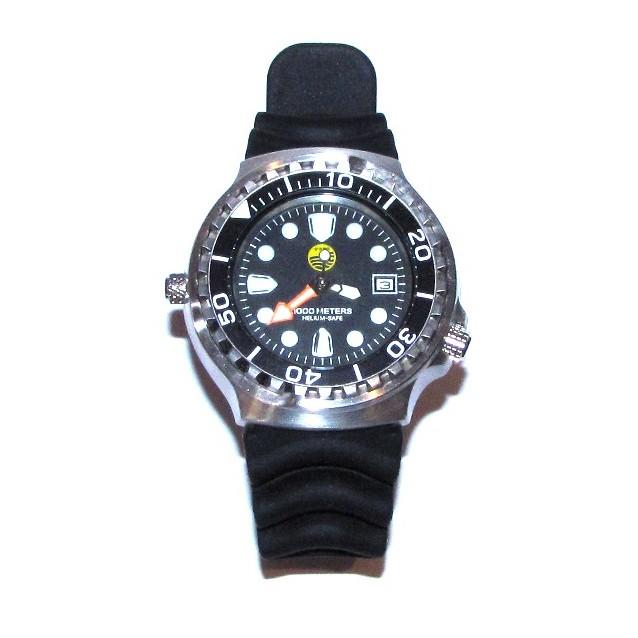 Часы подводные мужские Helium-Safe