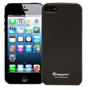 Черный чехол для iPhone 5 Delicate