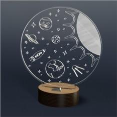 3D Светильник Onilight Космос