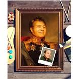 Портрет по фото Генерал