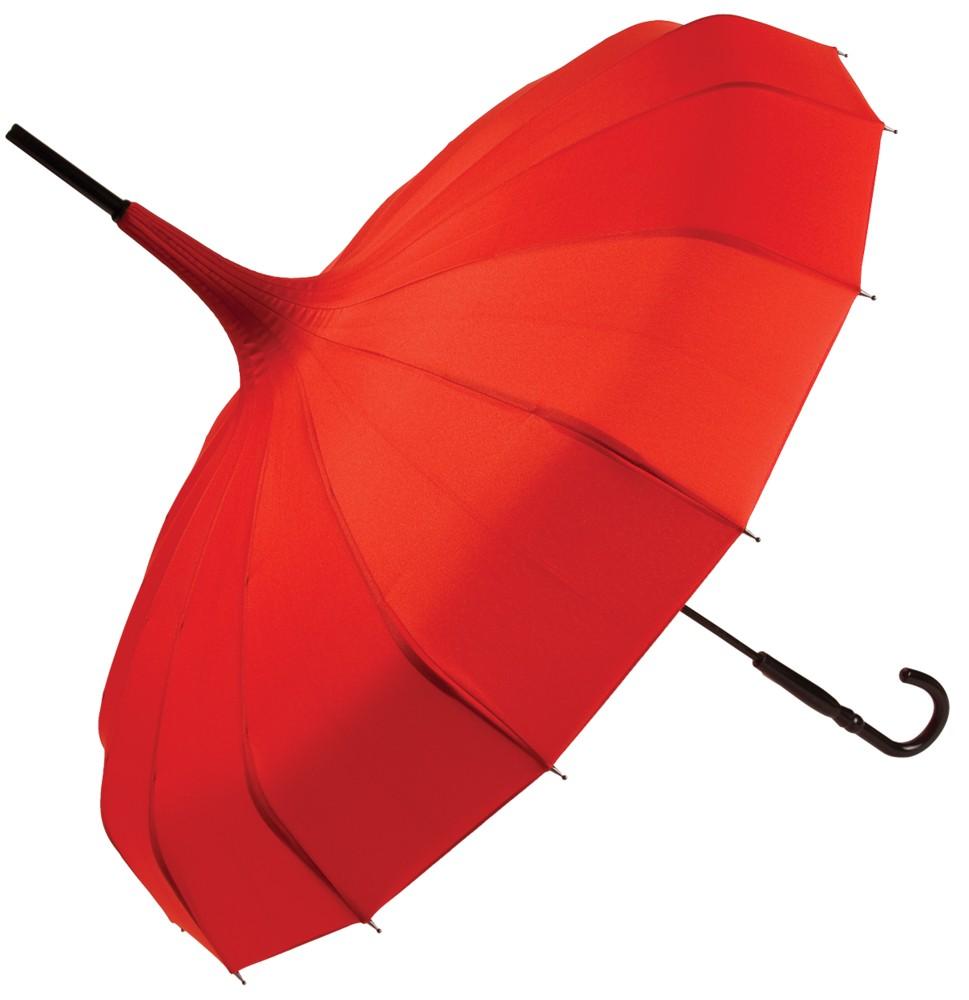 Красный зонт Пагода