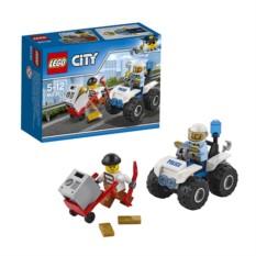 Конструктор Лего Город Полицейский квадроцикл