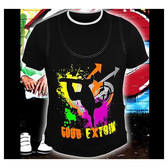Футболка good «GOOD EXTRIM» светится в темноте и УФ