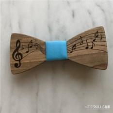 Бабочка-галстук Музыка