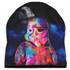 Шапка с 3D печатью Шлем воина клона