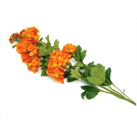 Цветок искусственный «Оранжевая ветвь»