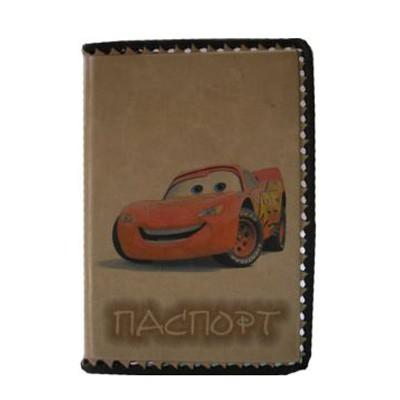 Обложка для детского паспорта Молния Маквин