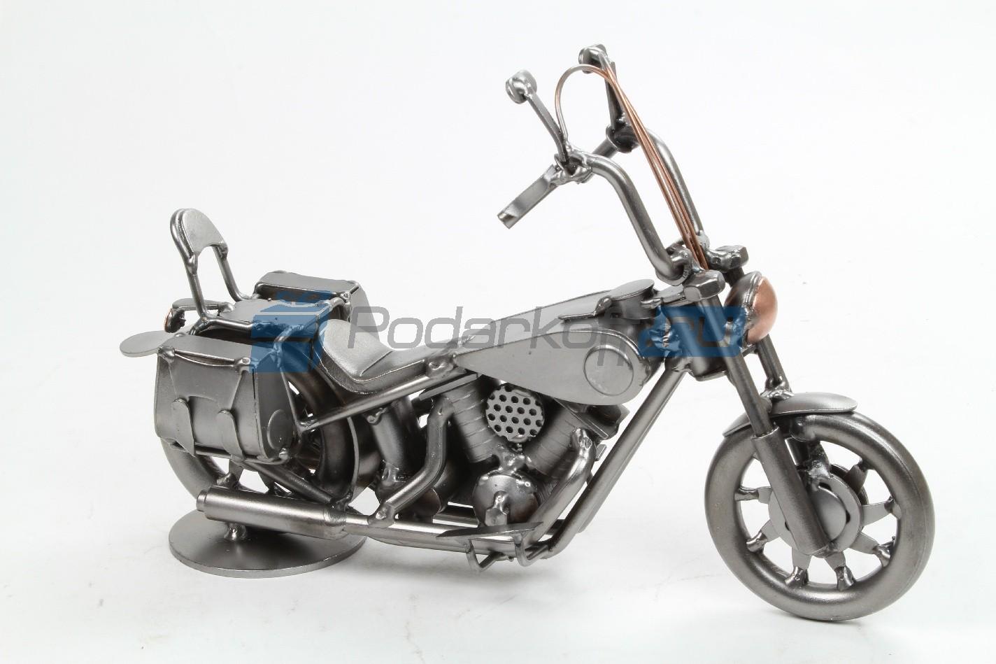 Статуэтка из металла Мотоцикл