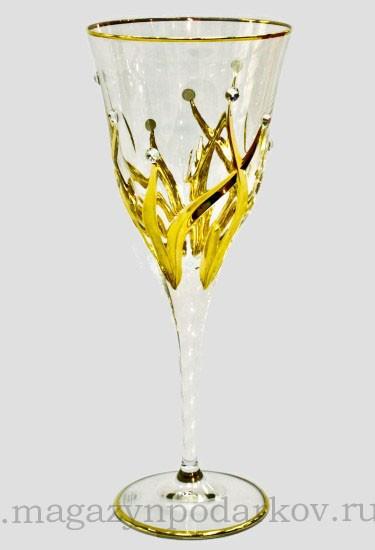 Набор из 6 бокалов для вина 240 мл Cre Art Зара