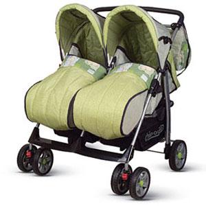 Детская коляска TWINY Green Lion
